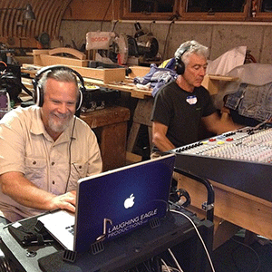 And the engineers who made it all possible,Eric Sigsbey (left) & Roger Stauss of Noteworthy Studios (right)